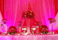 Quince Party Decorations-Main Table