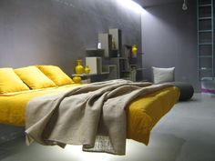Fluttua Bed by Daniele Lago. finalmente si potrà far pulizia sotto il letto!!!  @design