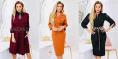 Rochii Romania is under construction Peplum, Dresses For Work, Plus Size, Pools, Floral, Fashion, Moda, Fashion Styles, Flowers