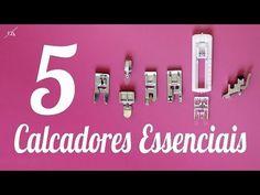 5 Calcadores Essenciais para Costurar - YouTube