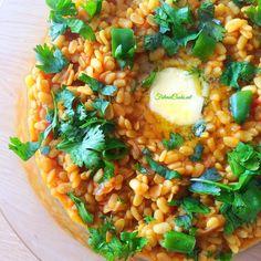 Bhunni Maash Daal – Pakistani Style Urid Lentils Read Recipe by ddeviah Lentil Recipes, Vegetarian Recipes, Cooking Recipes, Healthy Recipes, Veg Recipes, Curry Recipes, Pakistani Dishes, Pakistani Recipes, Easy Dinner Recipes