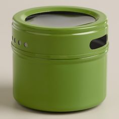 Green Magnetic Spice Storage Tin, Set of 12 | World Market