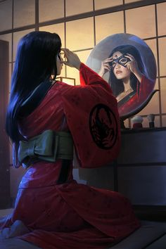 ArtStation - L5R Clan Champions, Darren Tan Dungeons And Dragons Characters, Fantasy Characters, Female Characters, Fictional Characters, Fairy Tale Anime, Fairy Tales, Character Concept, Character Art, L5r
