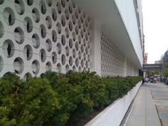 Mid Century Decorative Concrete Screen Block