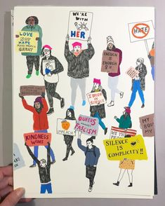 Illustrations for Women's March