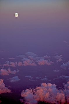 Full moon rising over cloud by webmink, via Flickr