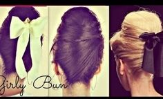 ★GIRLY HAIR BUNS FOR LONG HAIR TUTORIAL| 60s EVERYDAY SOCK BUN HAIRSTYLES & UPDOS FOR PROM WEDDING... MORE BUNS!