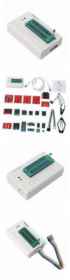 TV Video and Home Audio: Original Tl866a Universal Minipro Programmer + 21 Adapters + Ic Clip Clamp Avr -> BUY IT NOW ONLY: $145.4 on eBay!