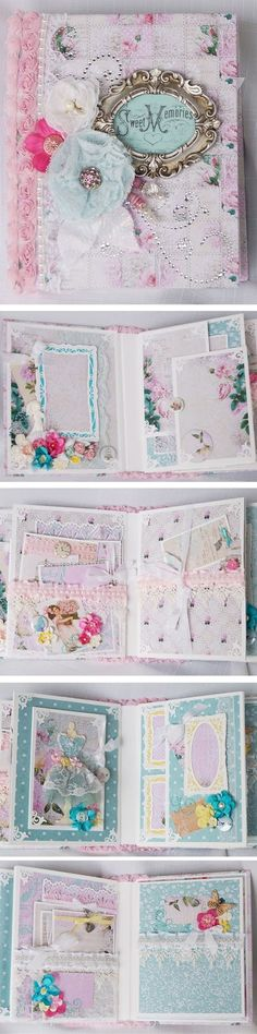 "Terry's Scrapbooks: Lemon Craft - ""Dreamy Mornings"" mini album"