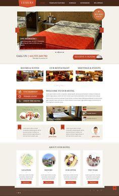 JM-Hotel - Responsive Joomla Template for Hotels and Restaurants