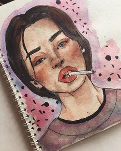 Art Sketches, Art Drawings, Book Art, Watercolor, Artwork, Pictures, Painting, Watercolor Art, Drawings