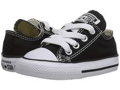 Converse Kids Chuck Taylor(r) All Star(r) Core Ox (Infant/Toddler) Kids Shoes Classic Black - Baby Boy Shoes - Ideas of Baby Boy Shoes Toddler Converse, Baby Converse, Toddler Boy Shoes, Toddler Boy Fashion, Toddler Outfits, Baby Boy Outfits, Kids Fashion, Infant Toddler, Converse Sneakers