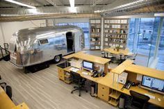 office with airstream - Google Search