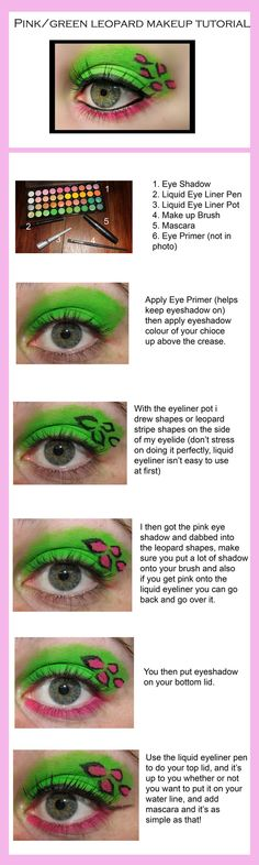 Leopard makeup tutorial for those with a wild side.