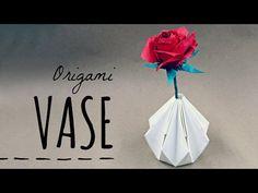 How to make an Origami Vase (Tadashi Mori) - YouTube