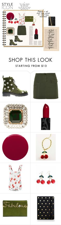 """Be your own style icon!"" by alisafranklin on Polyvore featuring Anouki, Band of Outsiders, Alexander McQueen, Smith & Cult, LAUREN MOSHI, Charlotte Olympia, Sugar Paper and Cartier"