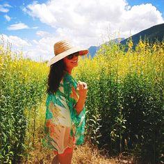 """Be in love with your life. Every minute of it."" -Jack Kerouac www.elizabethkoh.com #elizabethkoh #elizabethkoh #chiangmai #thailand #travel #wander #quote #positivity #ootd #kimono #feather #trend #fashion #adventure #wander #summerlovin #ethicallymade #giveback"