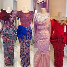 Top bridesmaids style It's addition bells division guys and we are admiring every distinct bridesmaid's dress we accept made. Peach seems African Print Dresses, African Print Fashion, African Fashion Dresses, Ghanaian Fashion, African Attire, African Wear, Dinner Gowns, Ankara Styles For Women, Africa Dress
