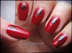 Nail Art by Belegwen: Joulu meni jo?