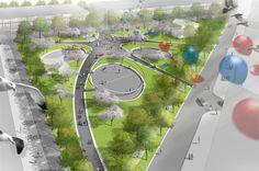 Buro Sant en Co landschapsarchitectuur - Van der Vennepark