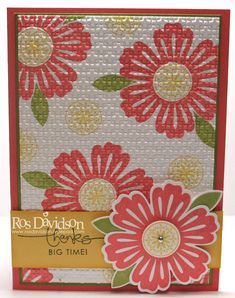 Ros Davidson, Independent Stampin' Up! demonstrator, Melbourne, Australia