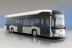 Russian electric bus KAMAZ-6282