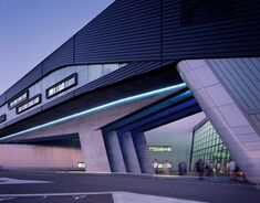 BMW Central Building by Zaha Hadid