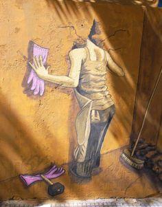 CARLA'S STREET ART, BUENOS AIRES, ARGENTINA @Maria Lecitica Romagnoli via Maria Leticia Romagnoli