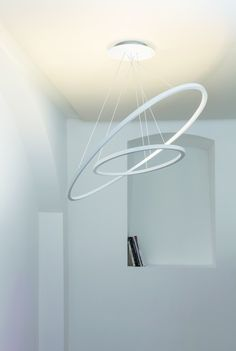 LED pendant lamp in two sizes -regular and mini- for diffused, indirect…