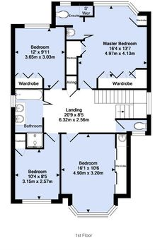 UK's number one property website for properties for sale and to rent Property For Sale, Master Bedroom, Floor Plans, Flooring, How To Plan, Park, House, Master Suite, Hardwood Floor