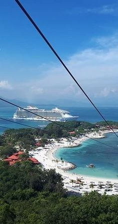 Labadee, Haiti | What would you do with 8 hours in Labadee? Experience the thrill of the world's longest zip line over water and then head straight for the beach. Grab a mask and dive in to explore the vibrant coast or simply kick back on the shore with a cocktail in tow. It's equal parts adventure and R&R when you cruise with Royal Caribbean to the private paradise of Labadee, Haiti.