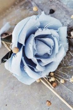 Gift - Rose made from linen | 21 Lovely Linen Anniversary Gift Ideas for Your 12th Year