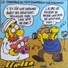 """charlie hebdo muhammad mohammed cartoons 