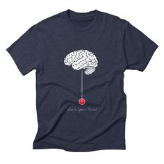 turn-your-mind mens triblend-t-shirt in navy