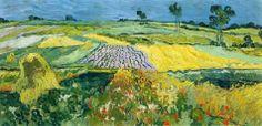 Fields near Auvers, 1890 Vincent van Gogh