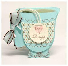 Birthday teacup invitation and free cricut files | Handmade ...