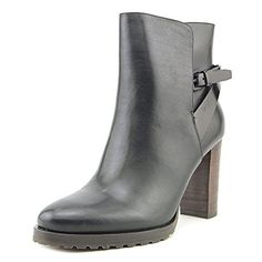 Elie Tahari JENNA Women US 75 Black Bootie >>> Click on the image for additional details.