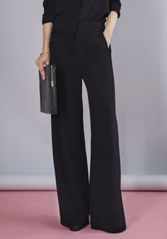 PANT SINI BLACK | More colors + in the group All items / The Essentials at Rodebjer Form AB (E320007_999_Lr)