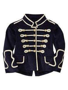 Velvet band jacket | Gap OMG I want this for Tessa so bad! $50=no bueno