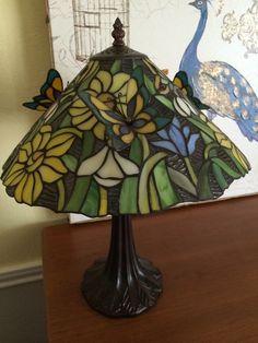"""""""Tiffany"""" butterfly lamp"""