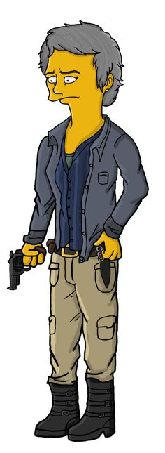 Carol Peletier Simpson by TheWalkerPrieton on DeviantArt
