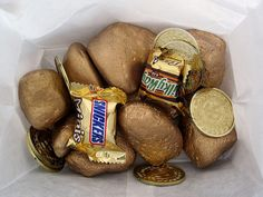 Pirate Birthday Party Favors Gold Coins Gold Candy by Kelly Griglione, via Flickr