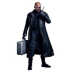 Amazon.com: Hot Toys - Avengers figurine Movie Masterpiece 1/6 Nick Fury 30 cm: Toys & Games