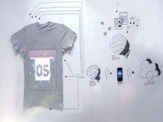 Un smart T shirt capable de tweeter et jouer de la musique