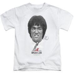 Bruce Lee Self Help White Kids T-Shirt