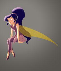 Vidia - Fast Flying Fairy - Tinker Bell and the Great Fairy Rescue Disney Kunst, Arte Disney, Disney Art, Disney And Dreamworks, Disney Pixar, Disney Characters, Face Characters, Disney Wiki, Disney Faries