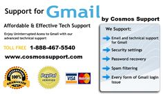 Some of the issues that can be fixed by Gmail technical support 24*7