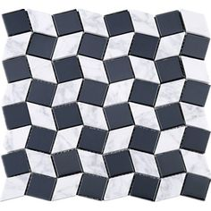 Black-White Leaf Glass & Stone Mesh Mounted Mosaic Tiles creates a beautiful multi-dimensional effect. This blended mosaic tile is suitable for installation on walls in commercial and residential spaces such as bathroom, kitchen, backsplash, shower and accent wall. Product Specifications: Sheet Size : 11-1/4 in. x 11-1/4 in.Material : Glass & StonePrimary Color : White & BlackPattern : LeafFinish : Polished & GlossyThickness : 8mm Free of charge Local pick up is avai...