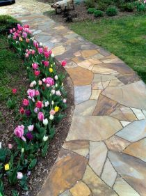 76 Stunning Backyard Patio Ideas Pavers Walkways 18