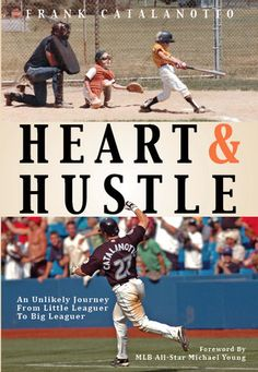 "Looking for a good summer read? Pick up ""Heart & Hustle"" by former #Brewers player Frank Catalanotto."